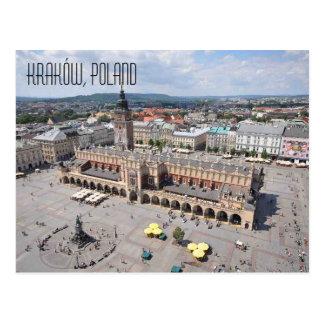 Kraków Poland Postcard