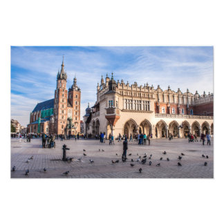 Krakow Square Photo Print