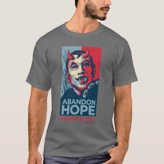 Krampus 2012 Abandon Hope Slogan T-Shirt