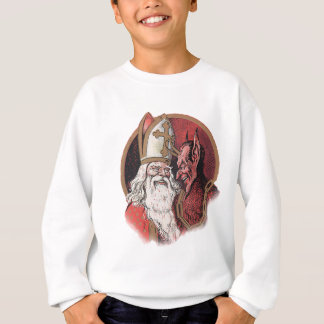 Krampus and Santa Christmas Sweatshirt