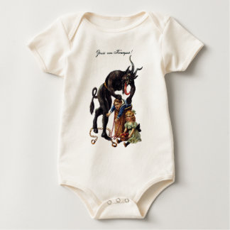 Krampus Baby Bodysuit