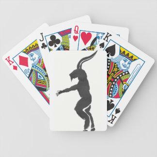 Krampus Bicycle Playing Cards