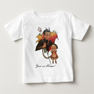 Krampus Breaking Through Baby T-Shirt