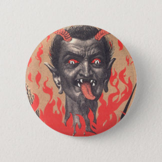 Krampus Button
