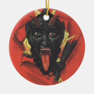 Krampus Ceramic Ornament
