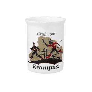 Krampus Chases Kid Pitcher