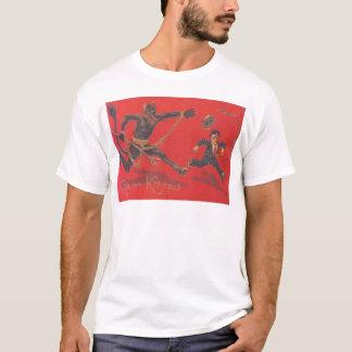 Krampus Chasing Child T-Shirt