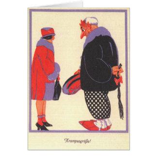 Krampus & Date Card