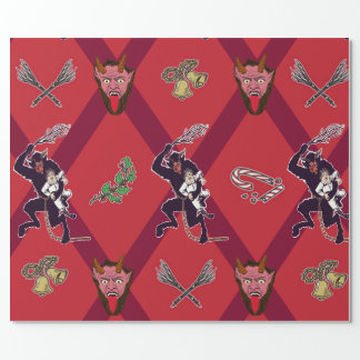 Krampus Festivus Wrapping Paper