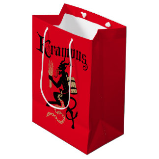 Krampus Gift Bag