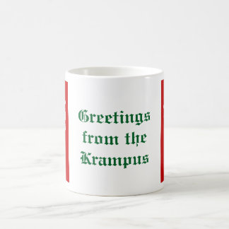 Krampus head mug