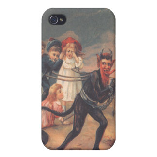 Krampus Kidnapping Children Case For The iPhone 4