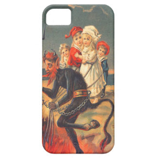 Krampus Kidnapping Children To Hell iPhone 5 Covers