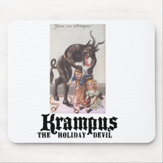 Krampus Mouse Pad