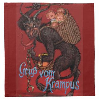 Krampus Napkins