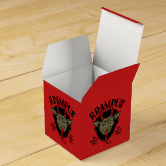 Krampus Naughty Face Favor Box