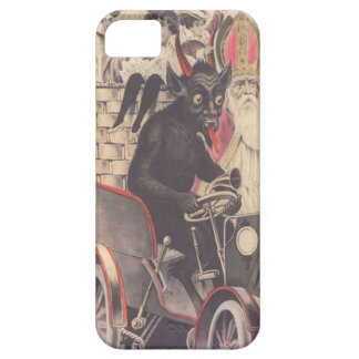 Krampus & Priest Kidnapping Children iPhone 5 Covers