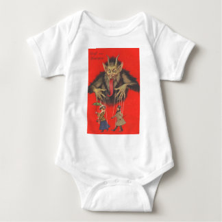 Krampus Puppeteering Adults Baby Bodysuit