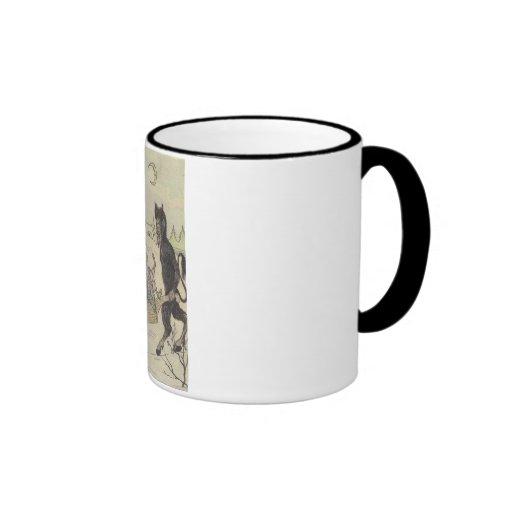 Krampus Ringer Mug
