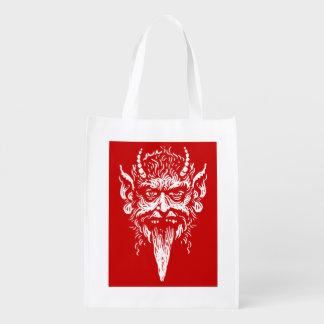 Krampus shopping bag