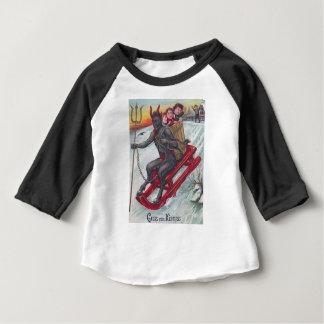 Krampus Sled Baby T-Shirt