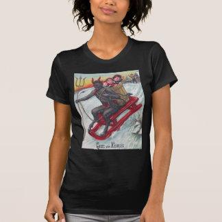 Krampus Sled T-Shirt