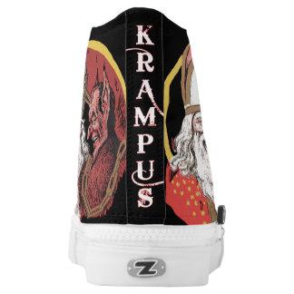 Krampus & St. Nick High Tops
