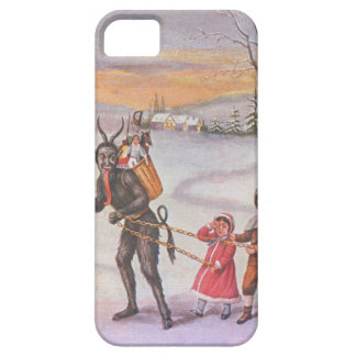 Krampus Stealing Toys & Children Case For The iPhone 5