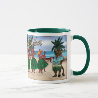 Krampus Takes a Vacation Mug