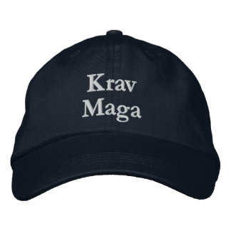 Krav Maga Adjustable Hat Baseball Cap