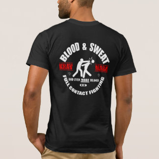Krav Maga: Blood Sweat Mn T-Shirt