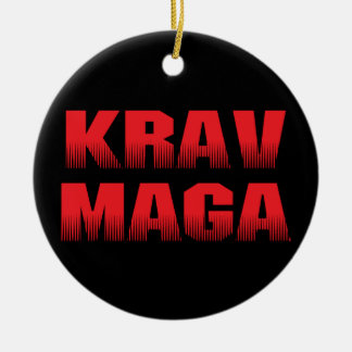 Krav Maga Ceramic Ornament
