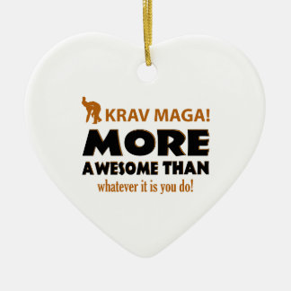 KRAV MAGA! DESIGN CERAMIC ORNAMENT