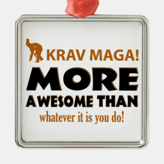 KRAV MAGA! DESIGN METAL ORNAMENT