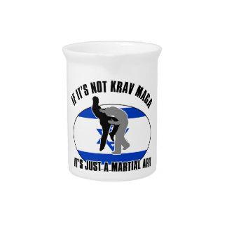 krav maga design pitchers