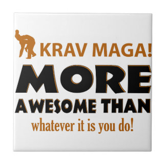 KRAV MAGA! DESIGN TILE