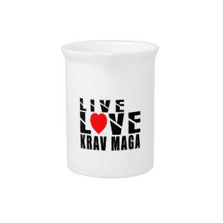 KRAV MAGA. Designs Pitchers