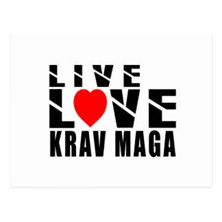 KRAV MAGA. Designs Postcard