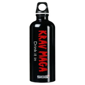 """Krav Maga """"Drink it in"""" SIGG Traveller 0.6L Water Bottle"""
