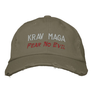 Krav Maga, Fear No Evil Embroidered Hat