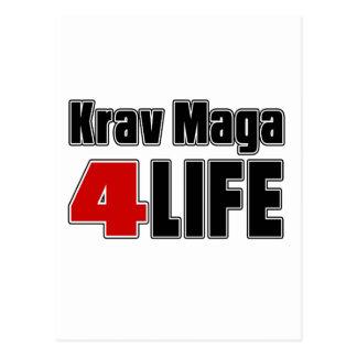 Krav Maga For Life Postcard