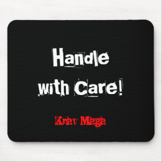 Krav Maga handle with care mousemat