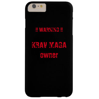 krav maga iphone phone case barely there iPhone 6 plus case