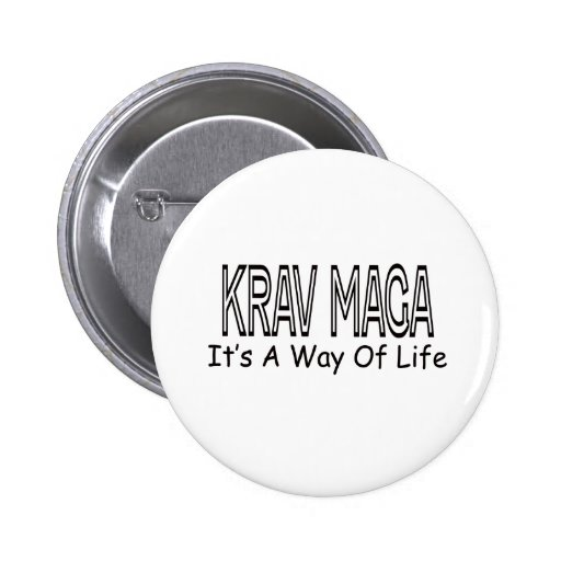 Krav Maga It's A Way Of Life Button