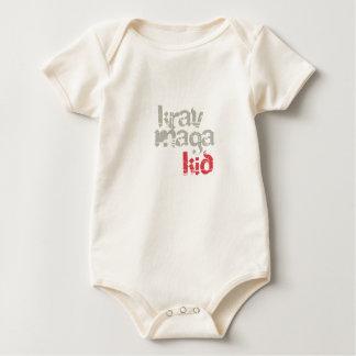 Krav Maga Kid Baby Bodysuit