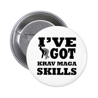 Krav Maga Martial Arts designs Pins