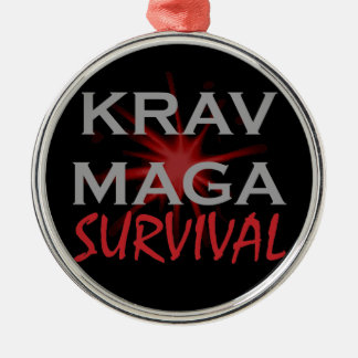 Krav Maga Metal Ornament