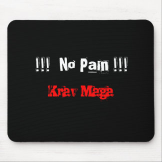 Krav Maga no pain mousemat