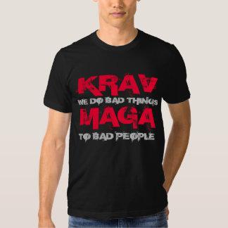 KRAV MAGA shirt, prayed things T-shirt