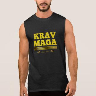 Krav Maga since 1944 golden Sleeveless Shirt